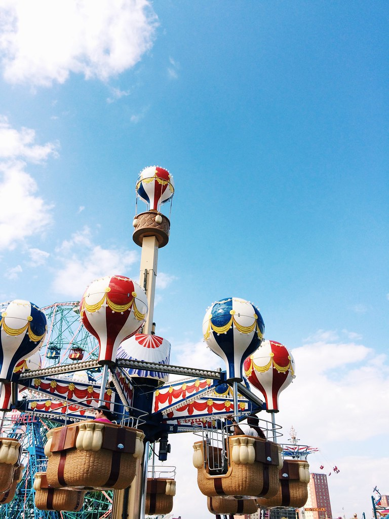 Luna Park at Coney Island. Labor Day, 2014