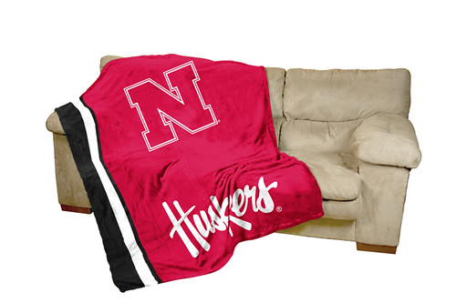 Nebraska Huskers Ultrasoft Blanket