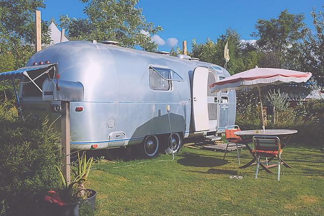 camping airstream vintage belrepayre Ariège
