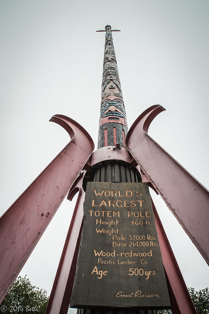 227-365 World's Tallest Totem Pole