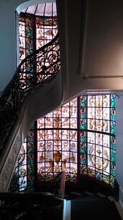 Escalera del hotel