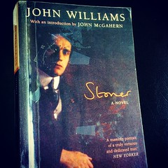 A new #library #book to #read. My mother-in-law recommended this to me. #stoner by #johnwilliams was a sleeper success.