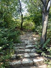 Walking up the Bunarjik hill