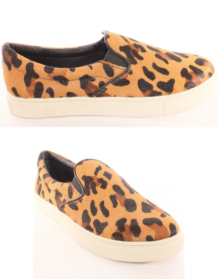 slippers de leopardo