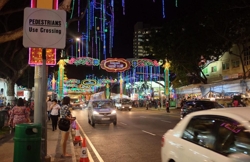 Geylang Serai light up