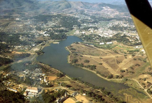 DALAT 1969 by Tom Petersen - Aerial view