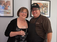 Chef Jonathan Levine of Jonathan's The Rub with a Chef Surprise dinner guest