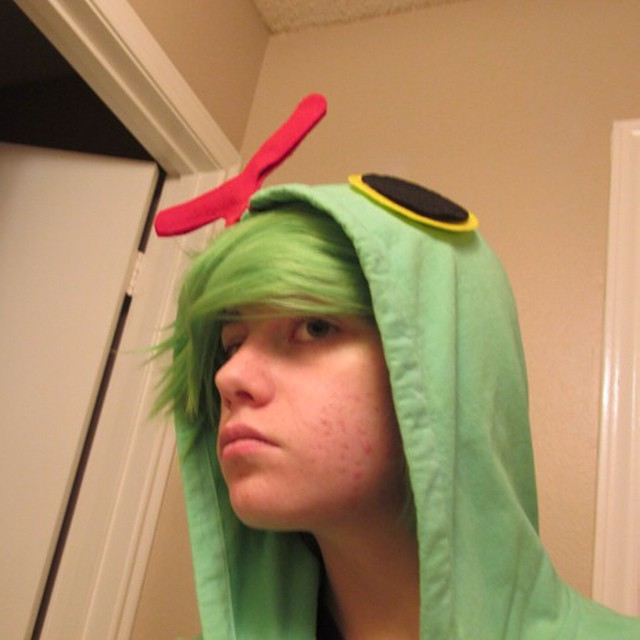 Caterpie cosplay