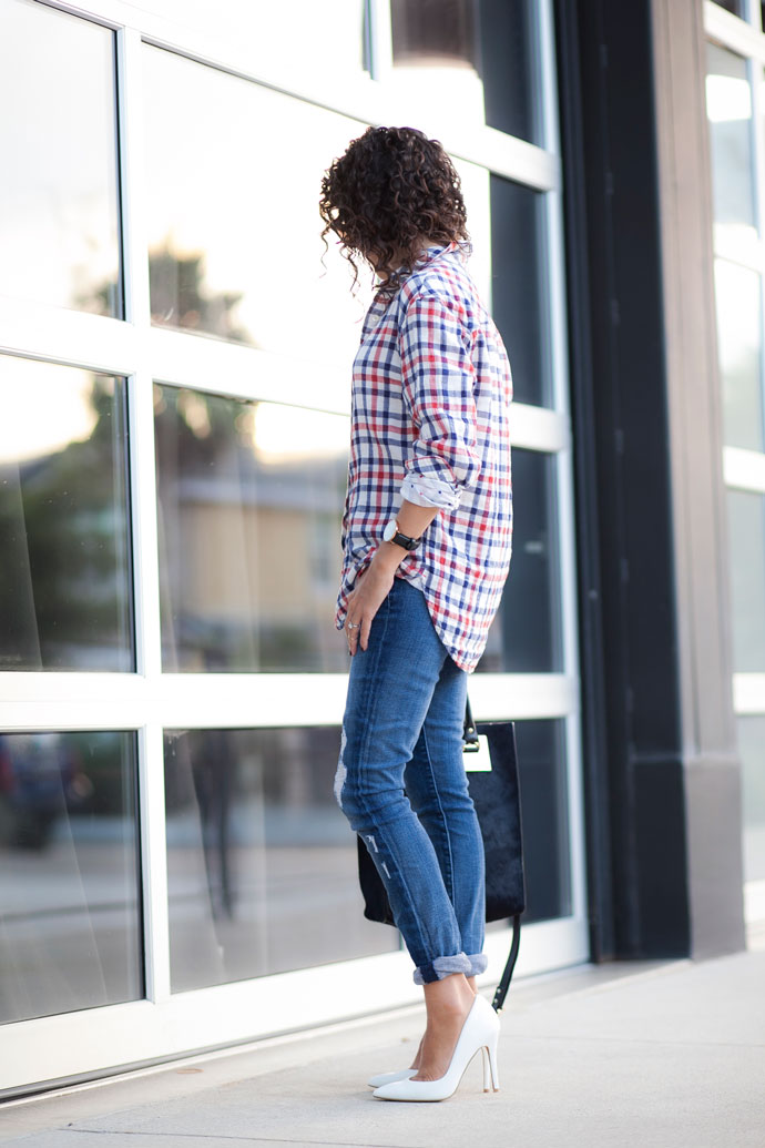 Slouchy Plaid