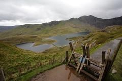 Pyg Path to Snowdon, Snowdonia National Park, North Wales