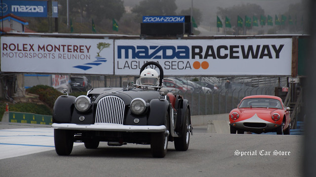 Historic racing at Rolex Monterey Motorsports Reunion 2014