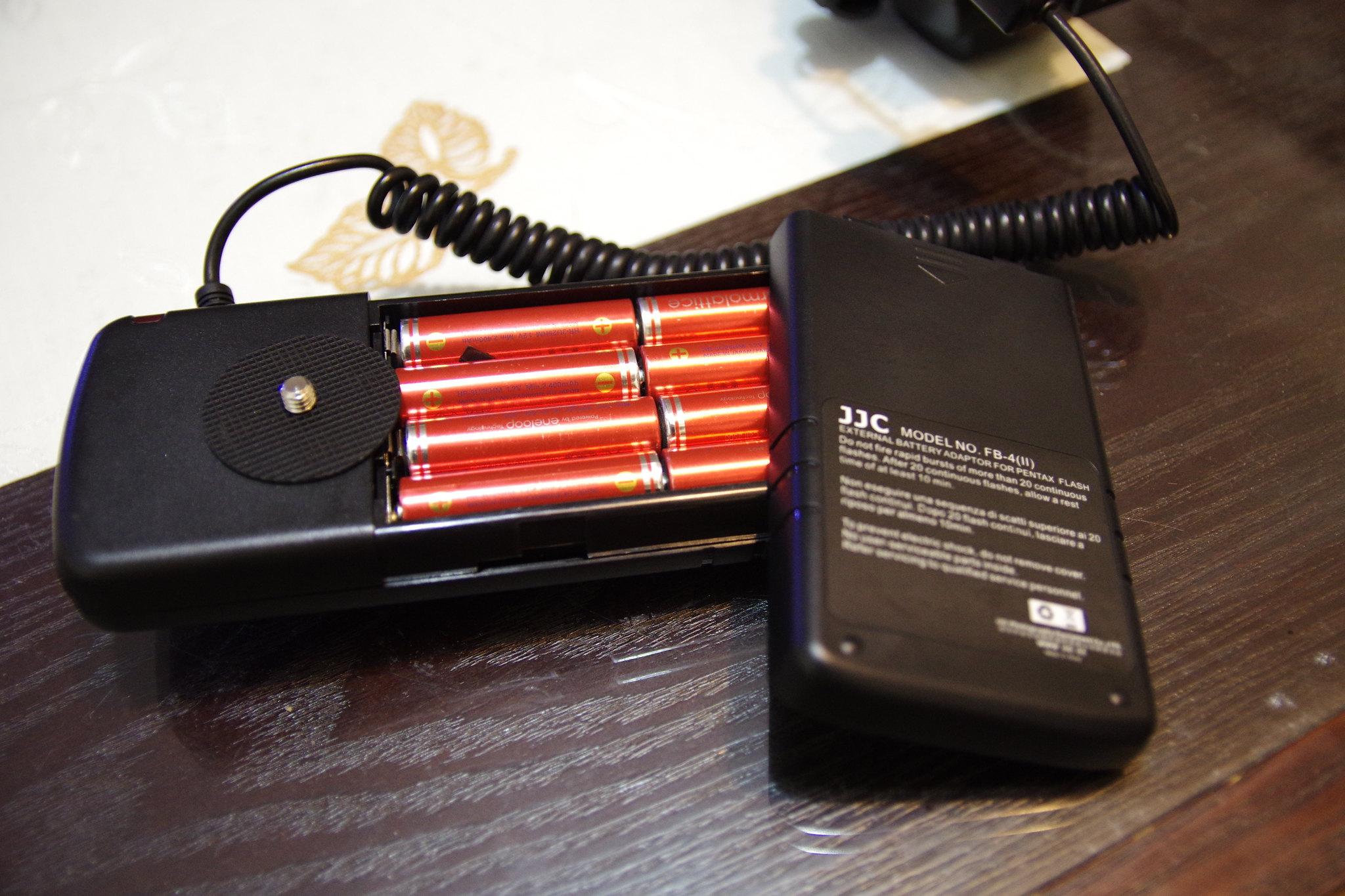 閃光燈好幫手,JJC電池包