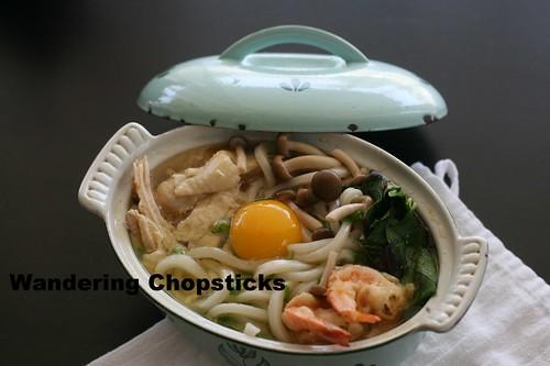 Nabeyaki Udon (Japanese Hot Pot Thick Noodle Soup) 11