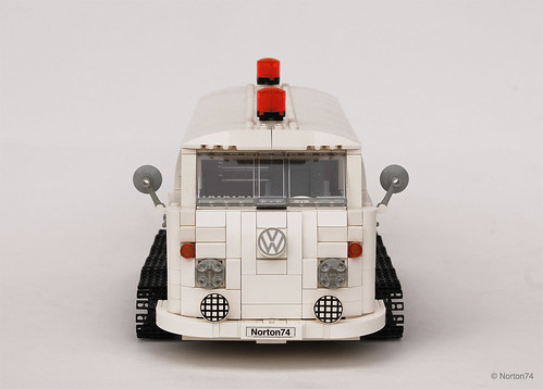 VW T1 Snowcat Adventuremobile