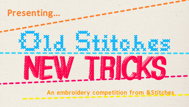 OldStitches New Tricks competition on &Stitches blog