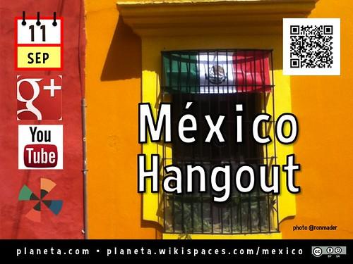 Mexico Hangout, September 2014 @HotelXixim @marehrenberg