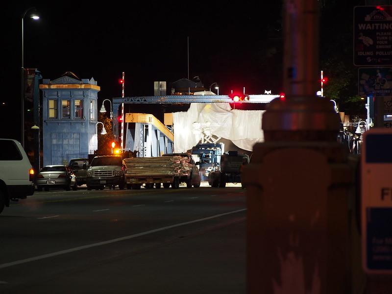 Fremont Bridge Repainting: OLYMPUS DIGITAL CAMERA