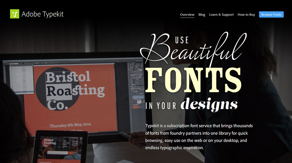 Adobe CC 2014 - Typekit