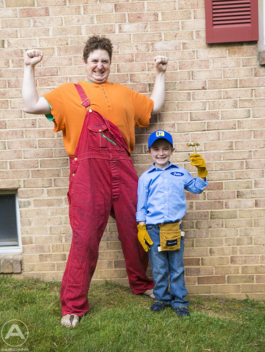 Wreck-It Ralph and Fix-it Felix Jr.