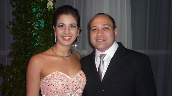 Daniel Berretta e Mariana Cardoso