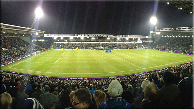 The Hawthorns on matchday