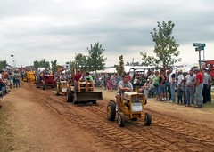 Smaller Equipment In The Tractor Parade.