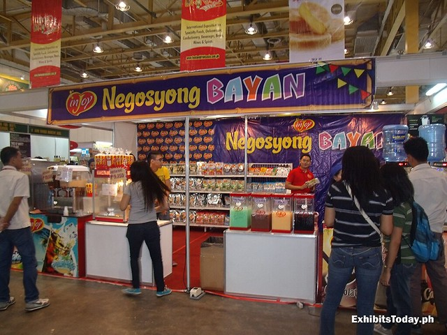 Negosyong Bayan Exhibit Booth