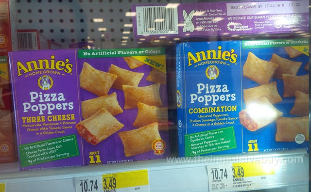 Annie's Pizza Poppers