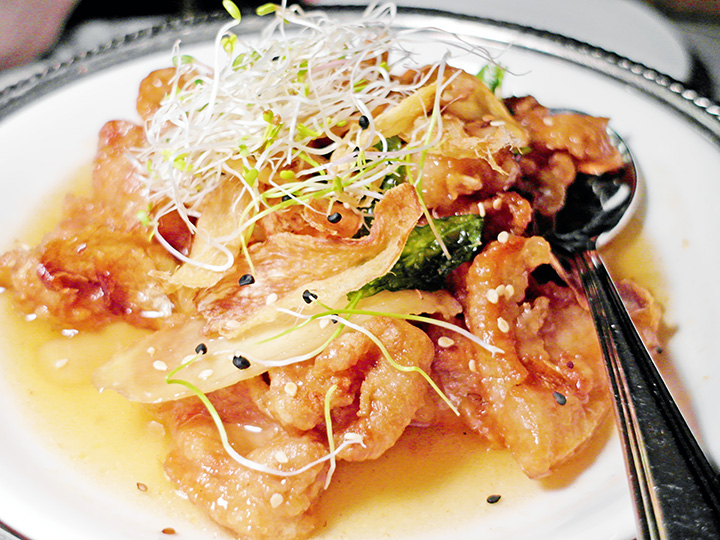 Honey Ginger Chicken - Chopsuey Cafe