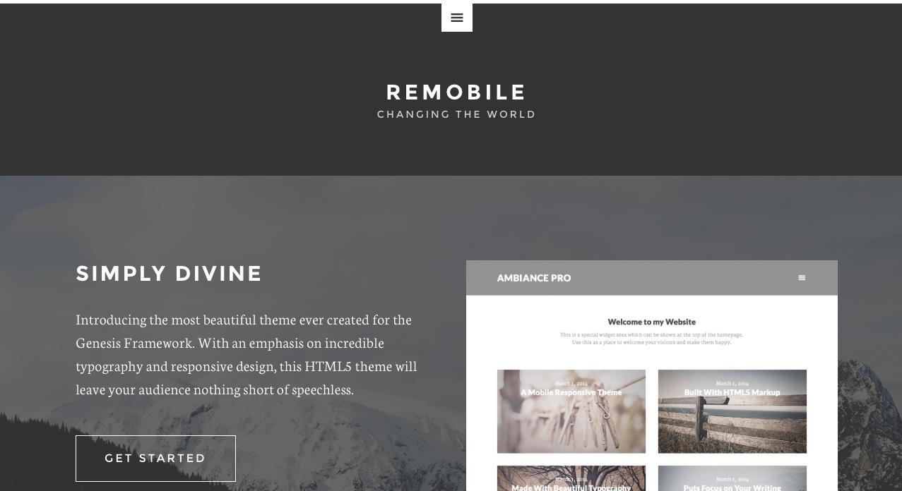 Remobile by StudioPress