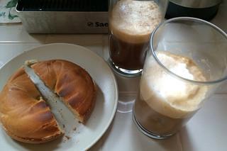 Peet's Coffee Major Dickason's Blend - Pairing with breakfast bagel
