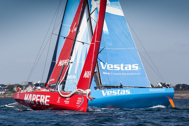 "A SOLID START FOR ""MAPFRE"" IN THE LAST LEG OF THE VOLVO OCEAN RACE"