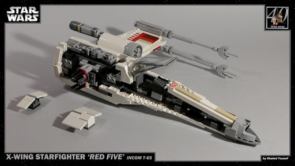 LEGO Star Wars - T-65 X-Wing 7 4K