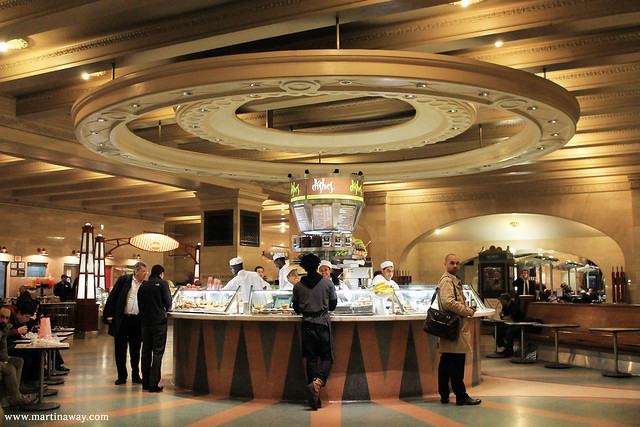 The Dining Concourse, Grand Central Terminal