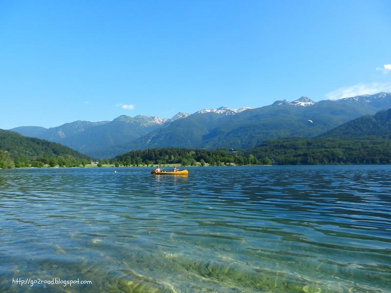 Развлечения озера Бохинь