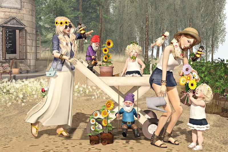 "Amelie et les petites: episode ""the most beautiful flowers in my garden"""