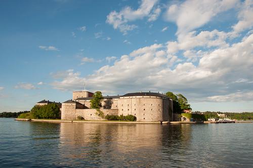 sweden sverige fortress vaxholm