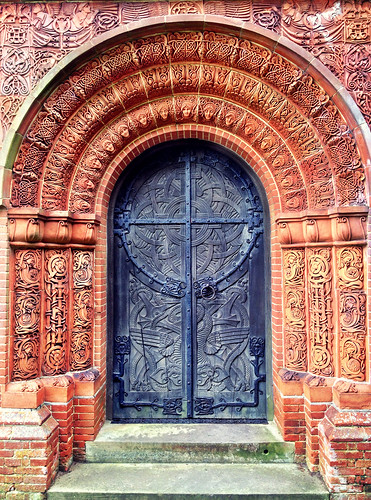Watts Chapel Door