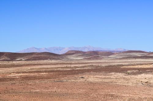 Stunning roads in desertic Damaraland, Namibia