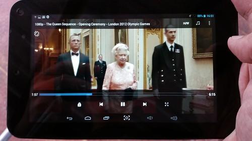 ดูคลิปวิดีโอ Full HD 1080p บน i-mobile i-TAB DTV