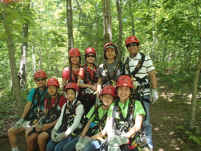 Virginia Canopy Tours at Shenandoah River State Park