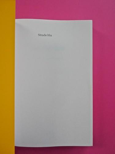 Golden boy, di Abigail Tarttelin. Mondadori 2014. Art director: Giacomo Callo, graphic designer: Susanna Tosatti; . Risvolto di copertina, carta di guardia / pagina dell'occhiello (part.), 1