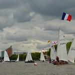 14 June, 2014 - 14:20 - English and French columns meet at the jibe mark