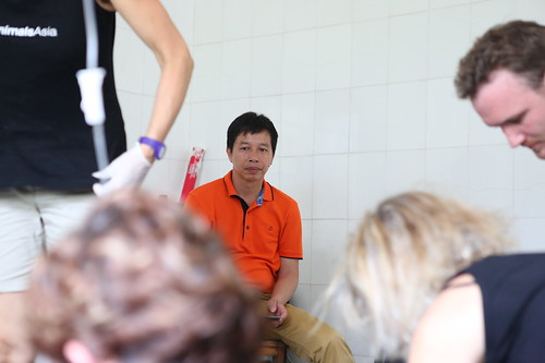 Mr Yan anxious during Galaxy's health check