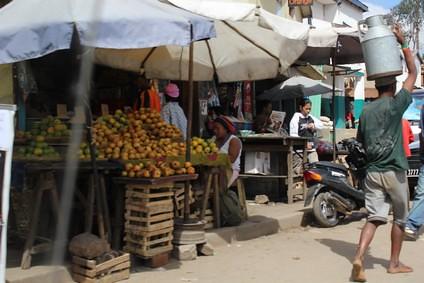 étals et marchés à Antananarivo