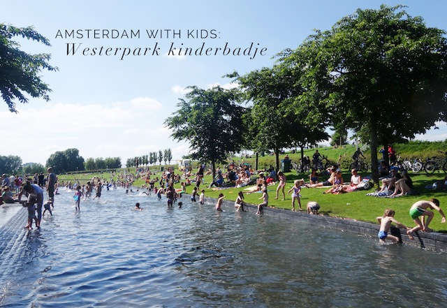 Westerpark kinderbadje Amsterdam with kids