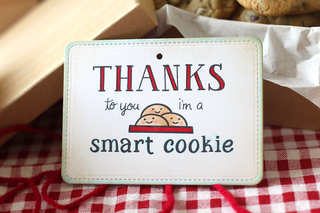 i'm a smart cookie {end of year teacher gifts}