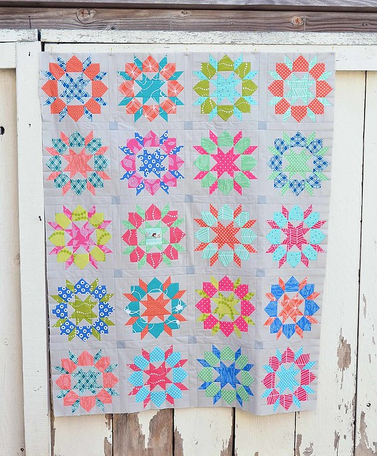mini swoon quilt top