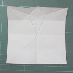 วิธีพับกระดาษเป็นที่คั่นหนังสือรูปผีเสื้อ (Origami Butterfly Bookmark) 007