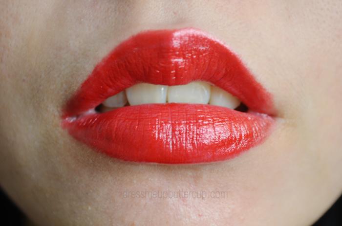 MAC x Rihanna Lipstick Swatch